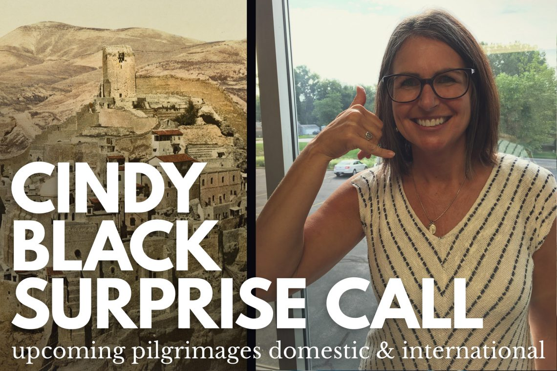 Cindy Black Holy Land