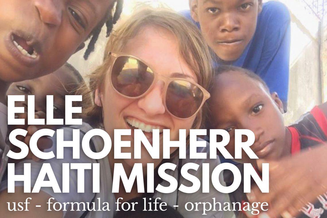Elle Schoenherr Haiti Mission