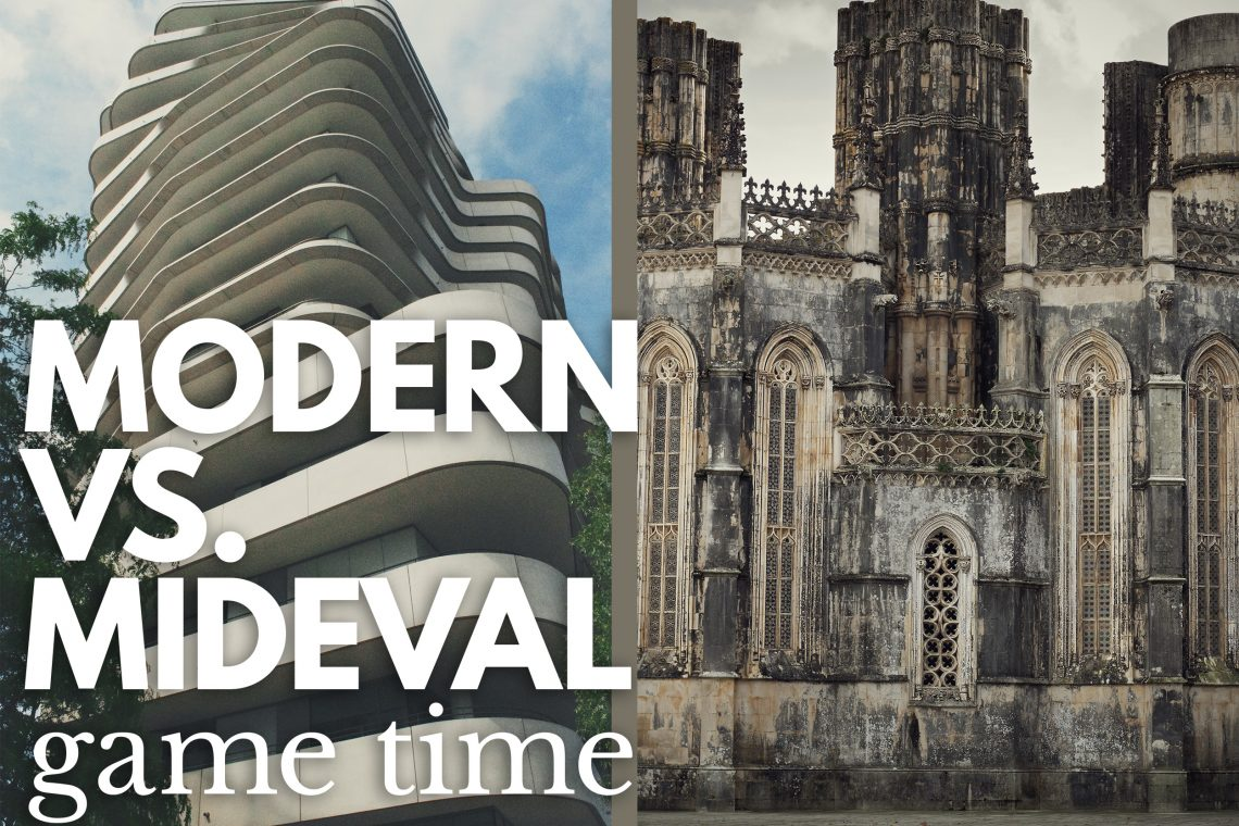 Game Modern Vs Mideval