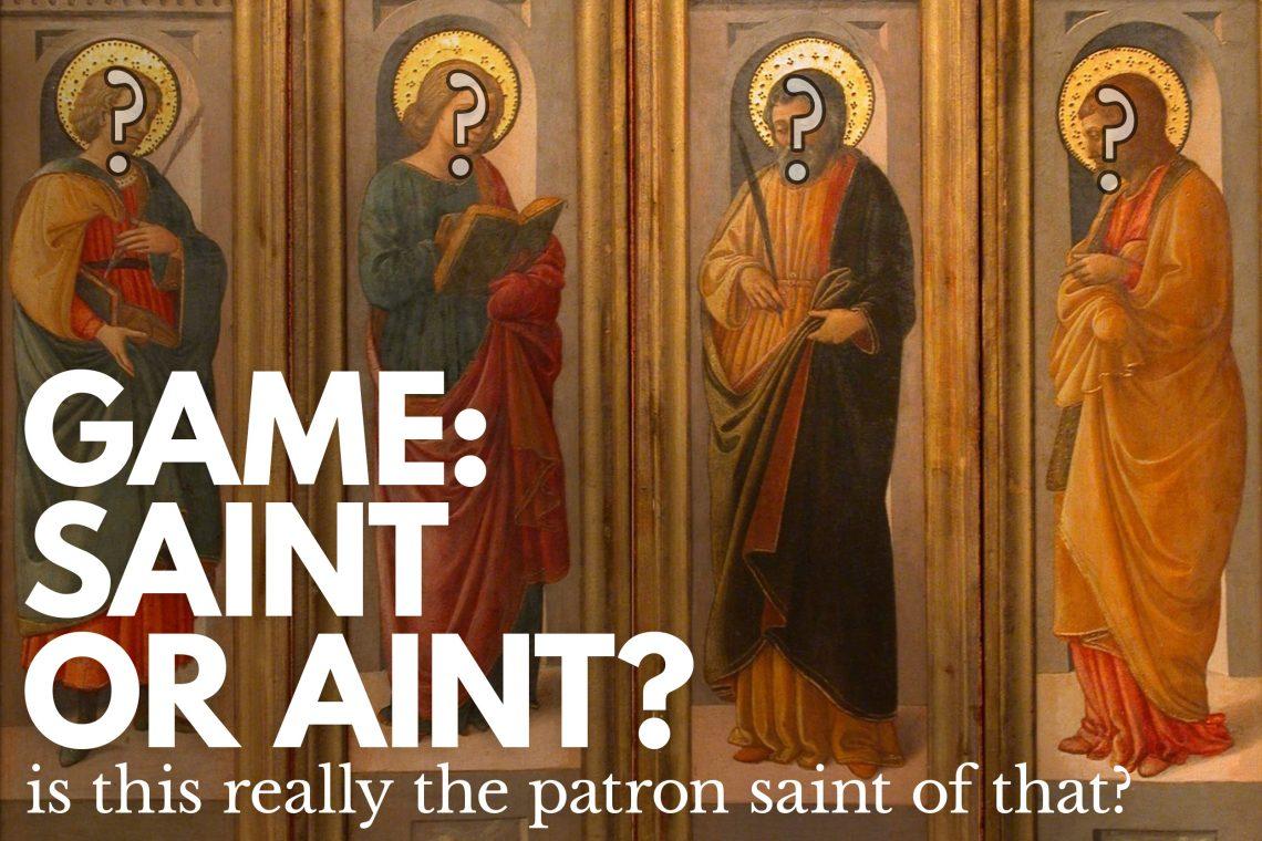 Game Saint or Ain't