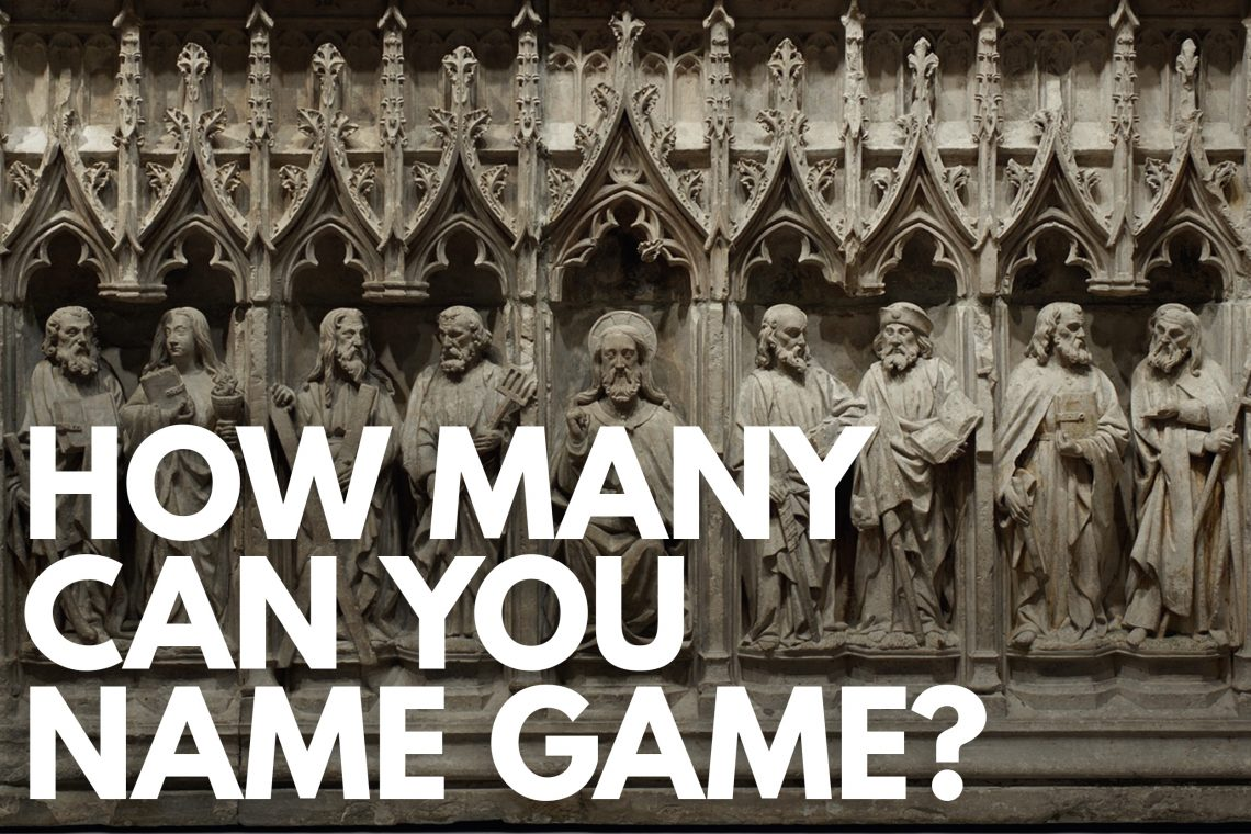 How Many Can You Name Game
