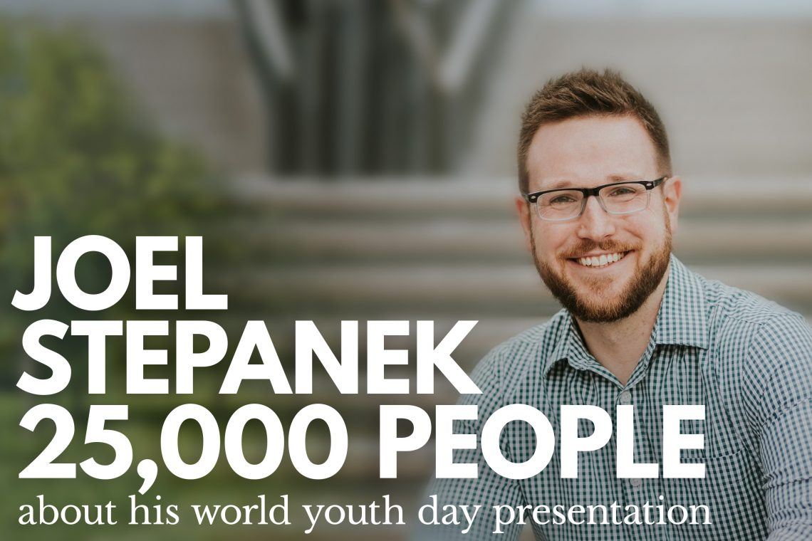 Joel Stepanek World Youth Day