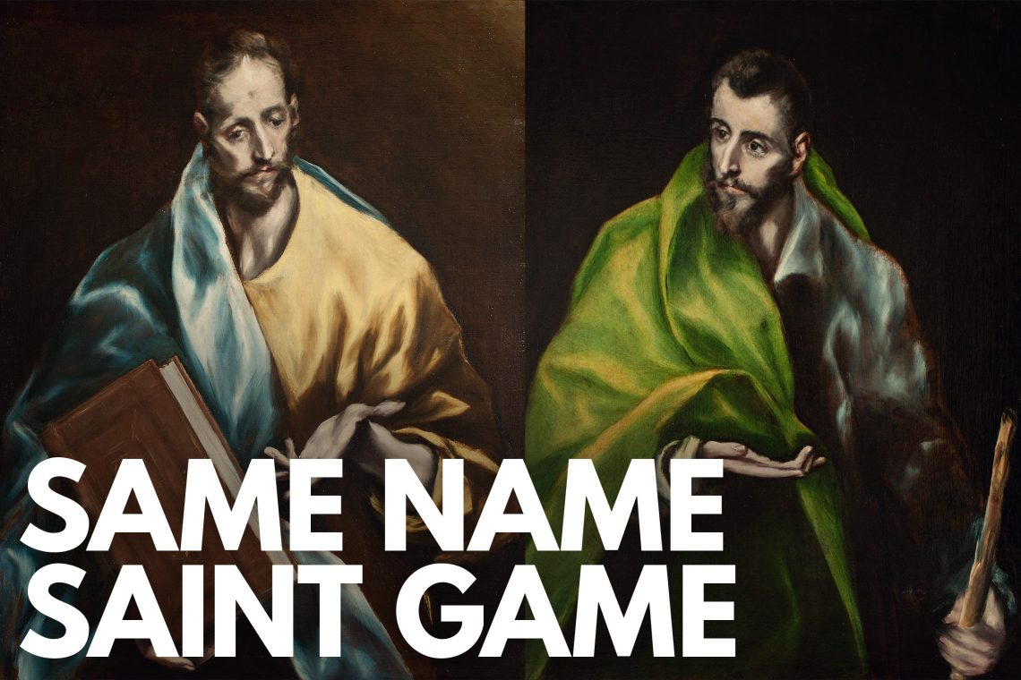Same Name Saint Game