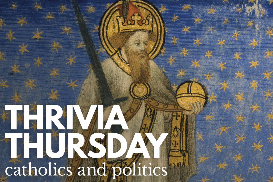 Thrivia Thursday Politics and Catholics