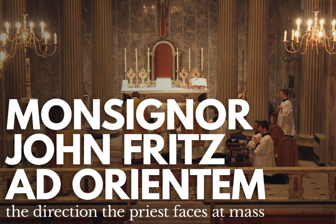 msgr John Fritz